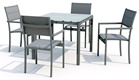 NAGA / PACIFIC BEACH DINING SET