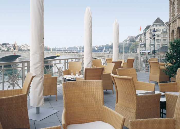 Hotel Les Trois Rois Basel (CH)